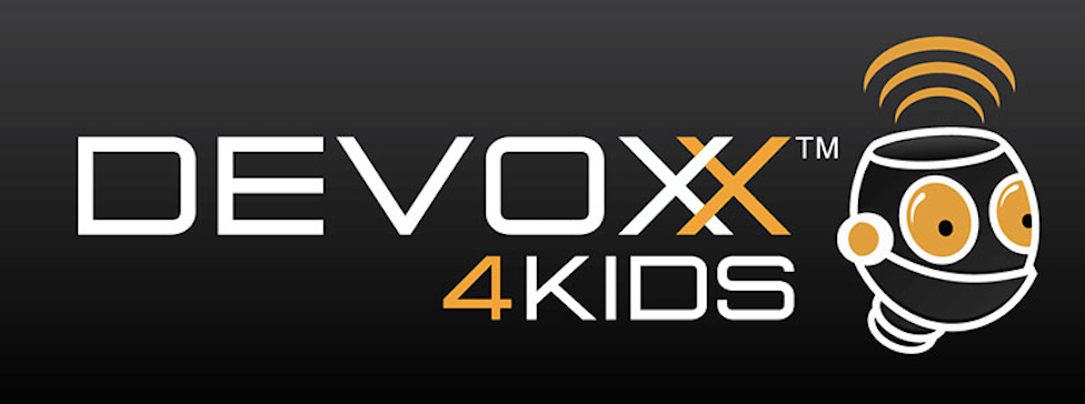 Kids Learn Code at Devoxx 4Kids