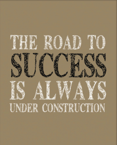 road to success compliments