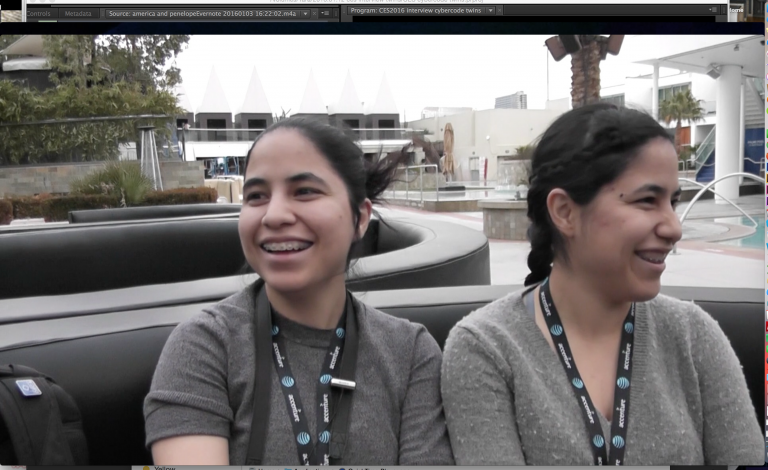 Interview with CyberCode Twins at AT&T Hackathon 2016