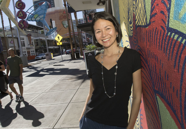 'Solopreneur' in Las Vegas went from building others' castles to her own