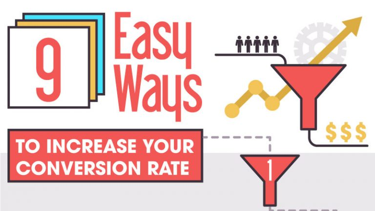 9 Easy Ways To Increase Your Conversion Rate