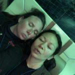 christina aldan luckygirliegirl selfie face