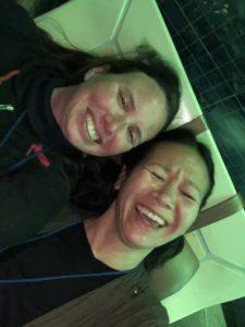 christina aldan luckygirliegirl laughing