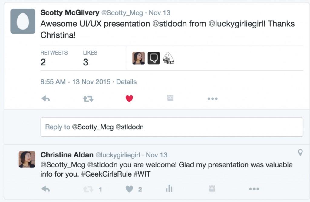 Speaker Christina Aldan #stdodn #devup