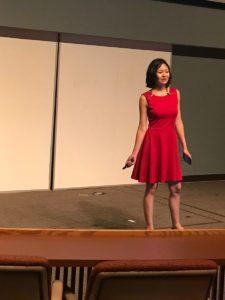KalamazooX Speaker Christina Aldan