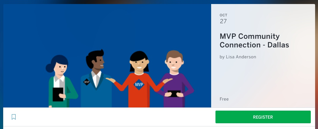 Trainer Announced for Microsoft MVP Community Connection Events Fall 2017