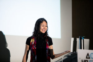 Trainer Christina Aldan keynote speaker wit