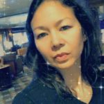 Christina Aldan AntartiConf selfie filter 2