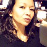 Christina Aldan AntartiConf selfie filter 3