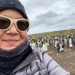 christina aldan selfies with penguins 1